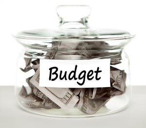 discuss budget with contractor