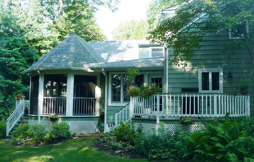 deck and porch addition